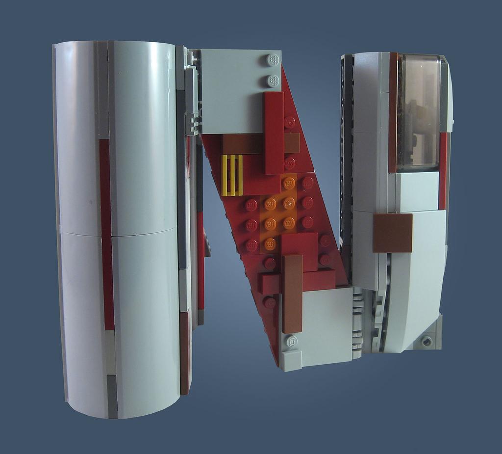 alphabet vaisseau spatial lego star wars 14 Alphabet de vaisseaux spatiaux en Lego