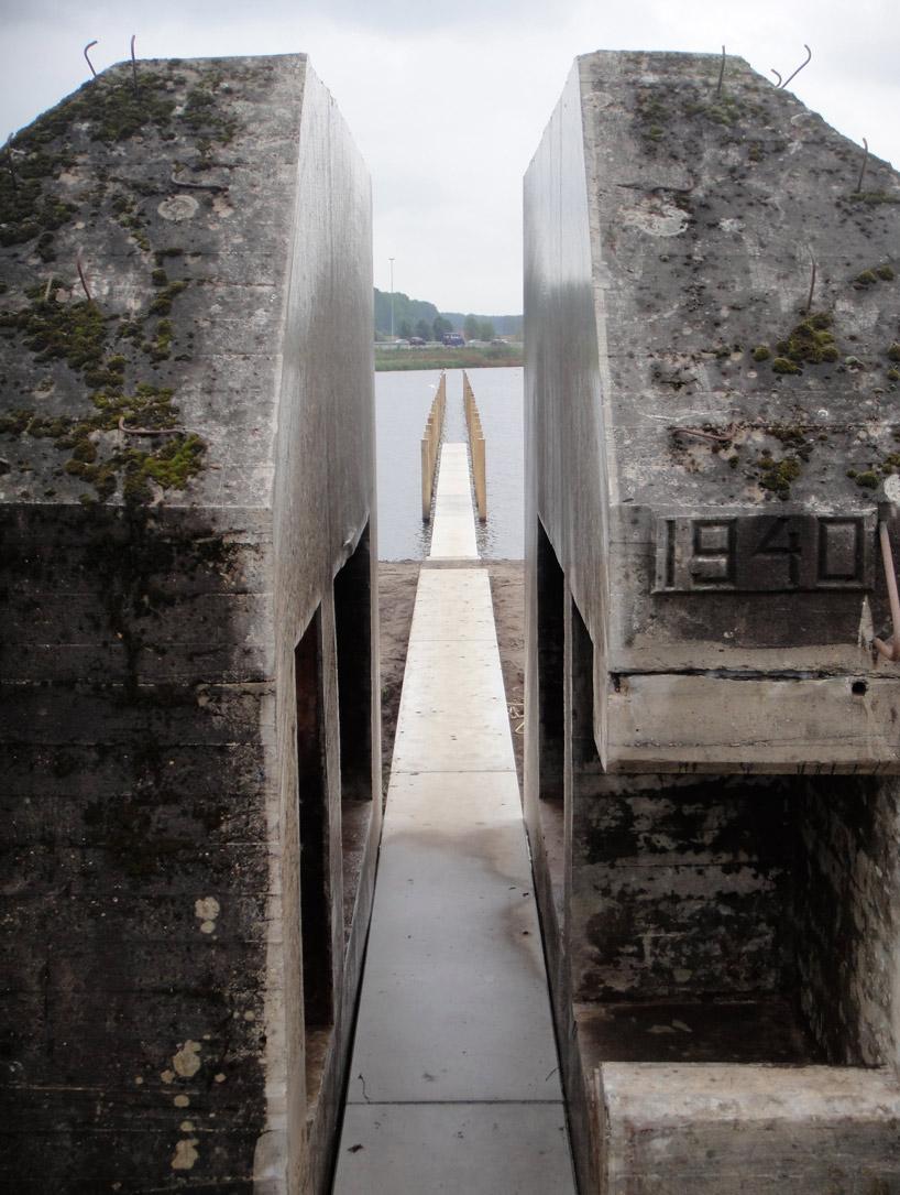 bunker decoupe traverse 02 Un bunker découpé