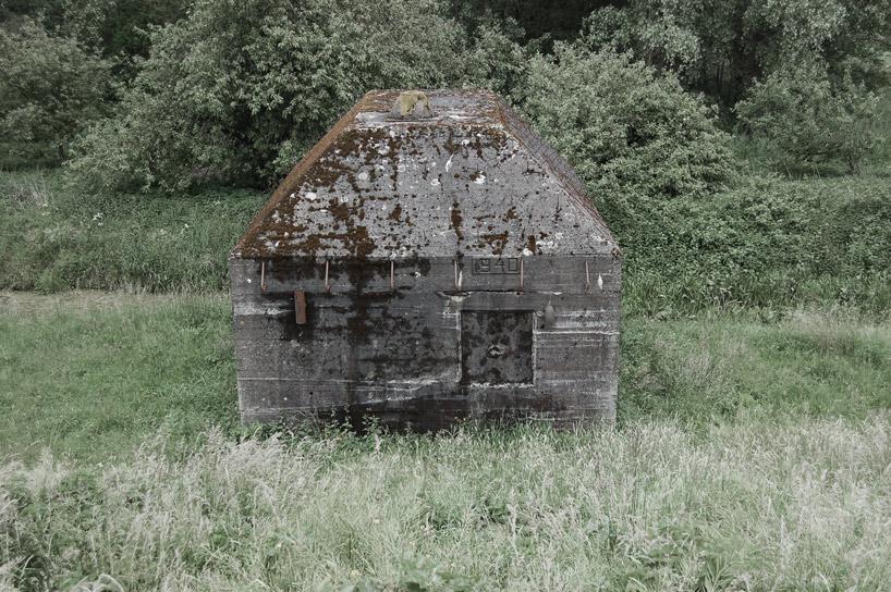 bunker decoupe traverse 07 Un bunker découpé
