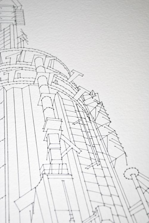 couture fil papier 08 Coutures sur papier
