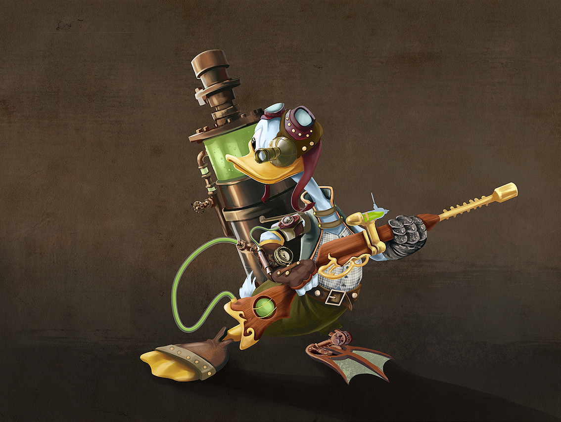 donald steampunk Donald Steampunk