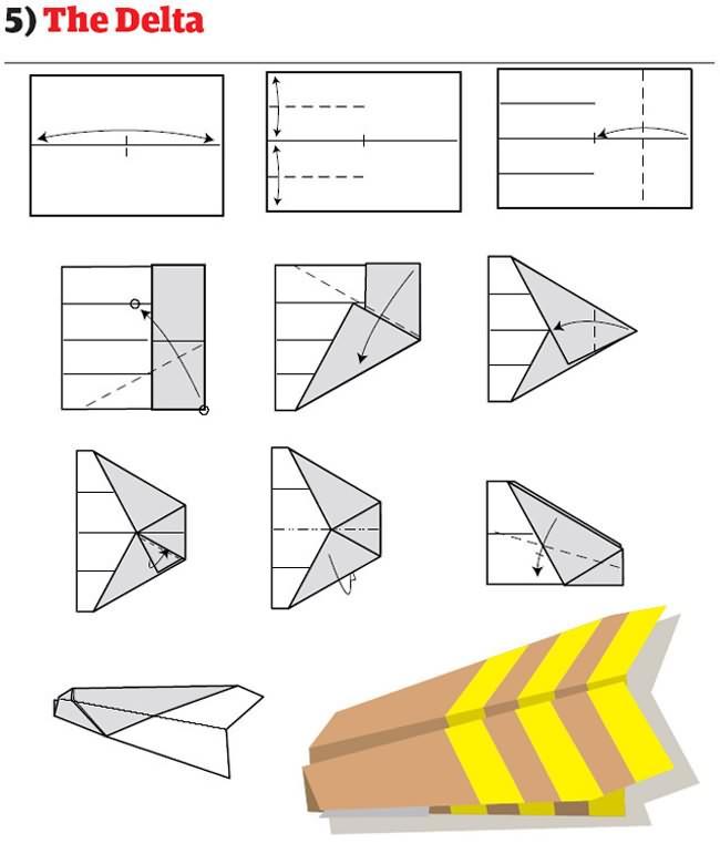 instruction avion papier mode emploi pliage 05 12 instructions pour plier des avions en papier originaux