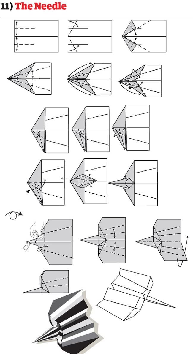 instruction avion papier mode emploi pliage 11 12 instructions pour plier des avions en papier originaux