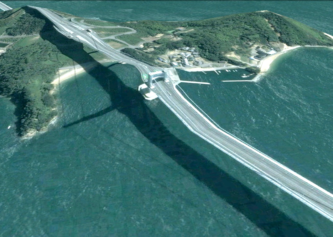 pont route google earth altitude relief 3d 06 Les ponts de Google Earth  geek featured art