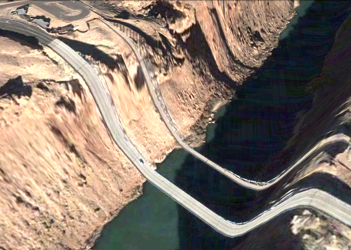 pont route google earth altitude relief 3d 10 Les ponts de Google Earth  geek featured art