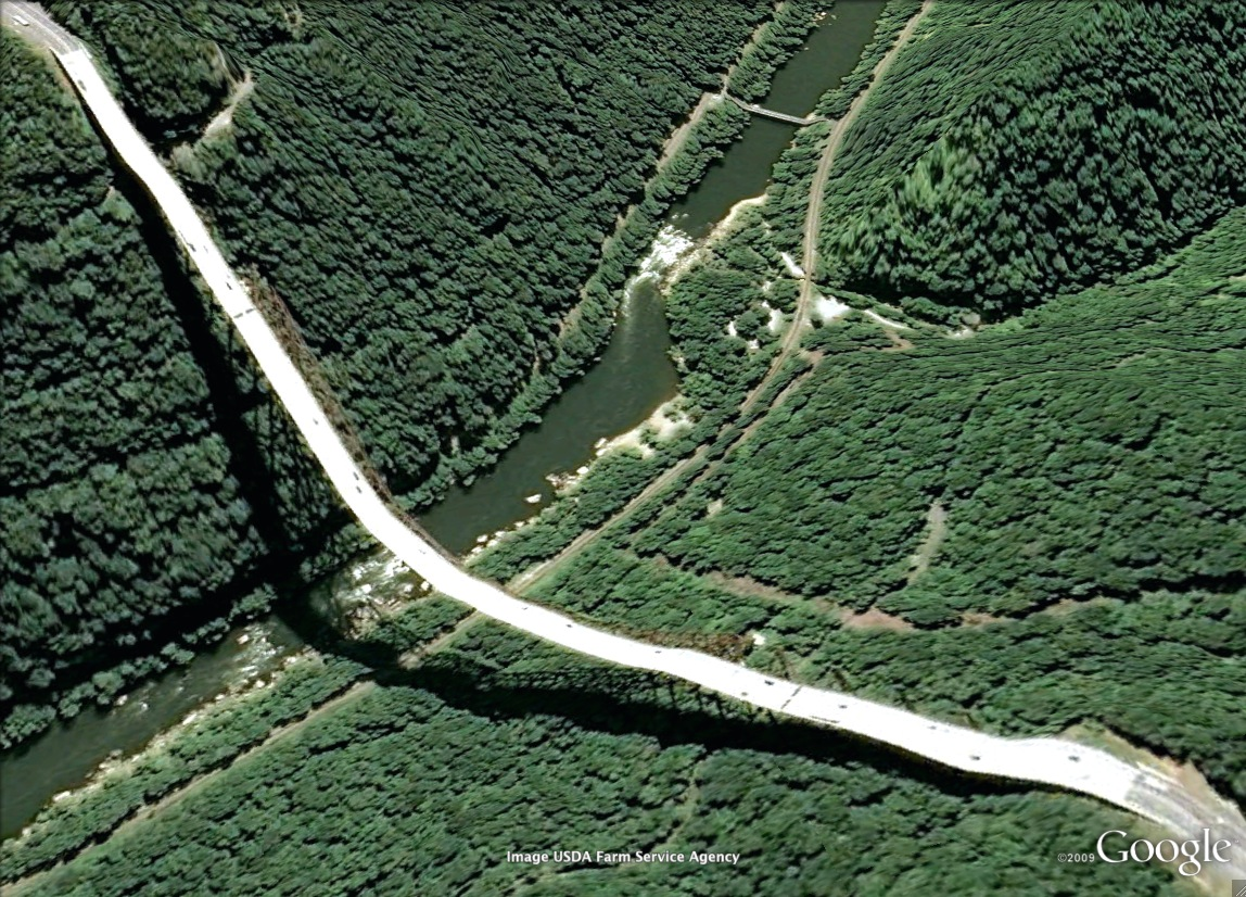 pont route google earth altitude relief 3d 11 Les ponts de Google Earth  geek featured art