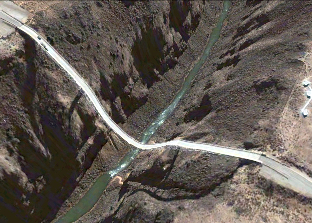 pont route google earth altitude relief 3d 12 Les ponts de Google Earth  geek featured art
