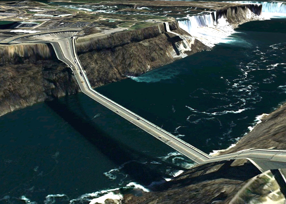 pont route google earth altitude relief 3d 13 Les ponts de Google Earth  geek featured art