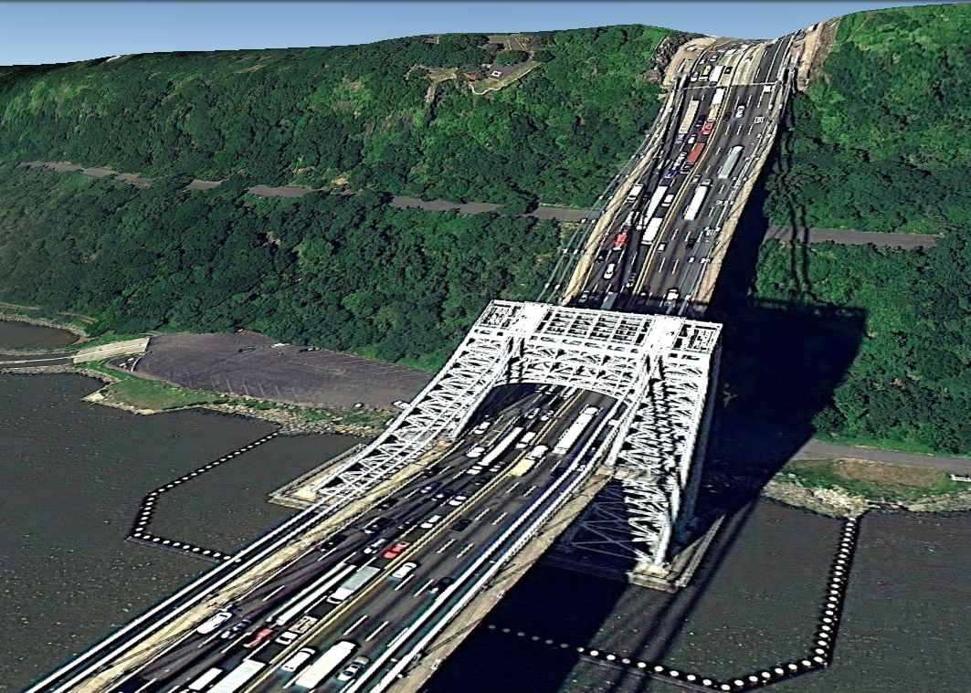 pont route google earth altitude relief 3d 15 Les ponts de Google Earth  geek featured art