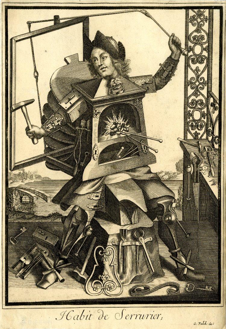 Nicolas Larmessin Costumes Grotesques Habit metier 23 Costumes grotesques et métiers de Nicolas de Larmessin