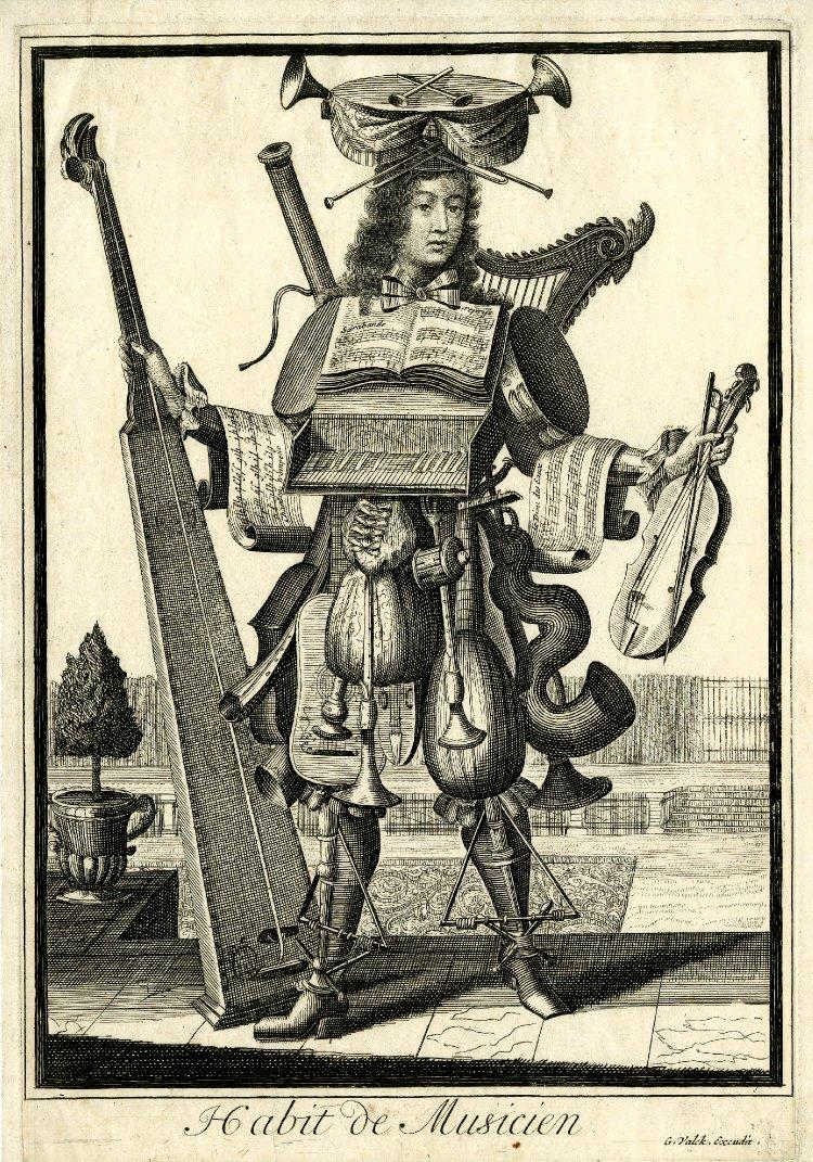 Nicolas Larmessin Costumes Grotesques Habit metier 25 Costumes grotesques et métiers de Nicolas de Larmessin