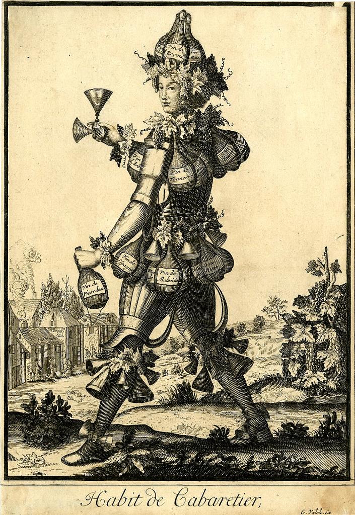 Nicolas Larmessin Costumes Grotesques Habit metier 26 Costumes grotesques et métiers de Nicolas de Larmessin