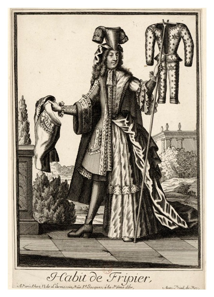 Nicolas Larmessin Costumes Grotesques Habit metier 27 Costumes grotesques et métiers de Nicolas de Larmessin