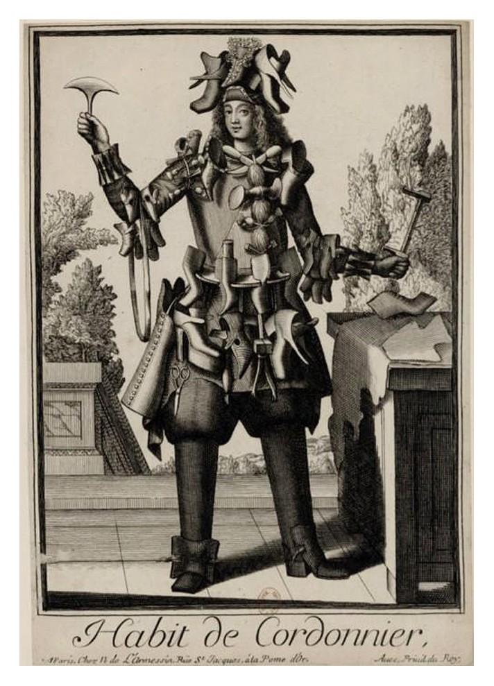 Nicolas Larmessin Costumes Grotesques Habit metier 28 Costumes grotesques et métiers de Nicolas de Larmessin