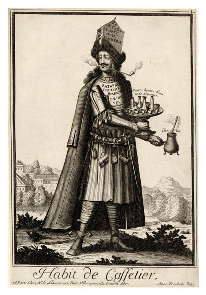 Nicolas Larmessin Costumes Grotesques Habit metier 29 Costumes grotesques et métiers de Nicolas de Larmessin