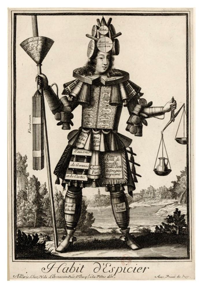 Nicolas Larmessin Costumes Grotesques Habit metier 30 Costumes grotesques et métiers de Nicolas de Larmessin