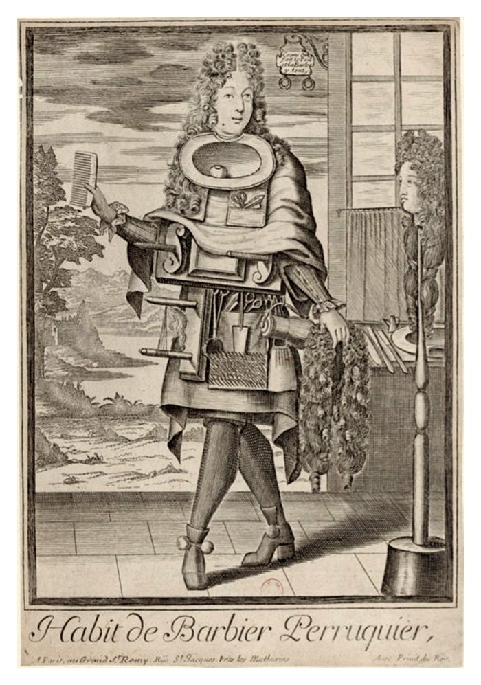 Nicolas Larmessin Costumes Grotesques Habit metier 31 Costumes grotesques et métiers de Nicolas de Larmessin