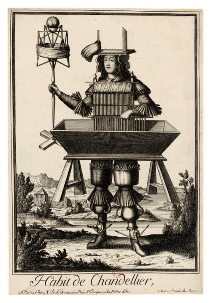Nicolas Larmessin Costumes Grotesques Habit metier 32 Costumes grotesques et métiers de Nicolas de Larmessin