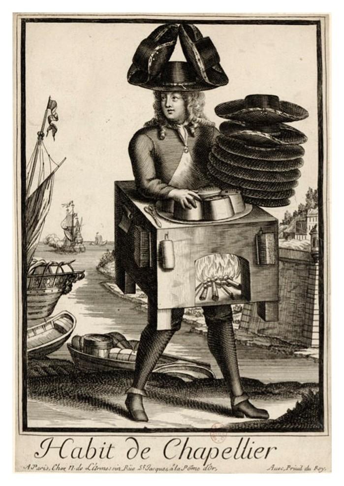 Nicolas Larmessin Costumes Grotesques Habit metier 34 Costumes grotesques et métiers de Nicolas de Larmessin