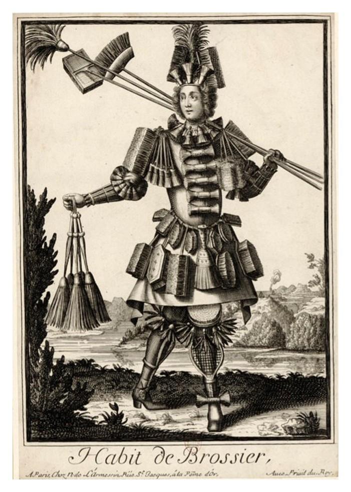 Nicolas Larmessin Costumes Grotesques Habit metier 35 Costumes grotesques et métiers de Nicolas de Larmessin