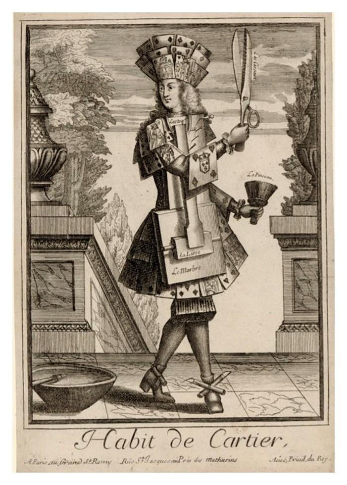 Nicolas Larmessin Costumes Grotesques Habit metier 36 Costumes grotesques et métiers de Nicolas de Larmessin
