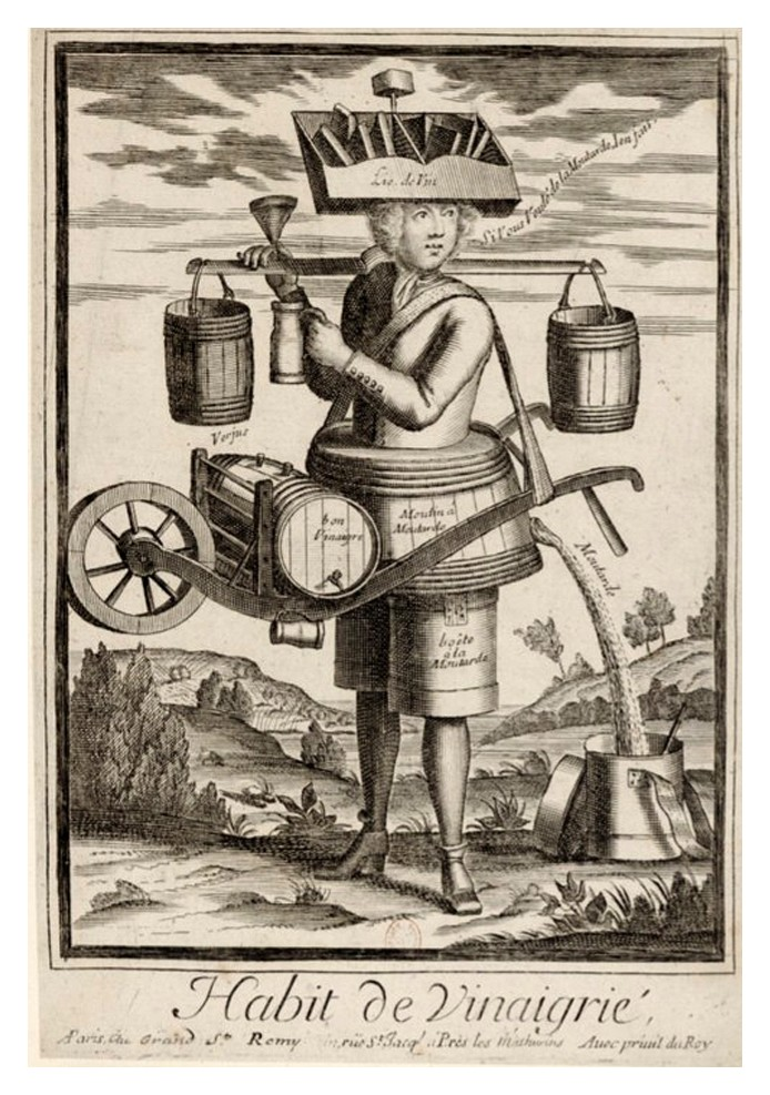 Nicolas Larmessin Costumes Grotesques Habit metier 37 Costumes grotesques et métiers de Nicolas de Larmessin
