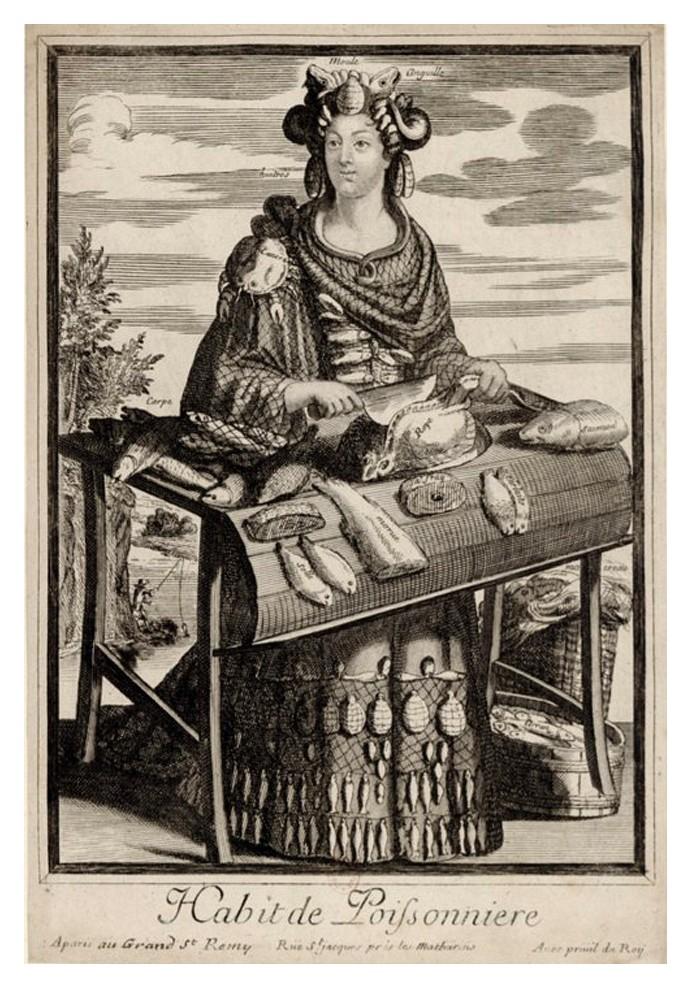 Nicolas Larmessin Costumes Grotesques Habit metier 38 Costumes grotesques et métiers de Nicolas de Larmessin