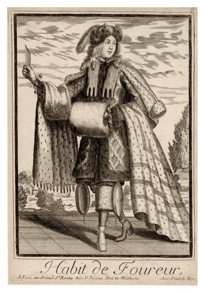 Nicolas Larmessin Costumes Grotesques Habit metier 39 Costumes grotesques et métiers de Nicolas de Larmessin