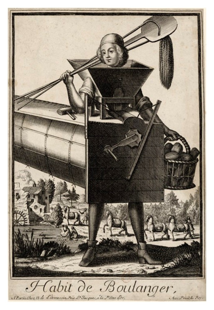 Nicolas Larmessin Costumes Grotesques Habit metier 40 Costumes grotesques et métiers de Nicolas de Larmessin