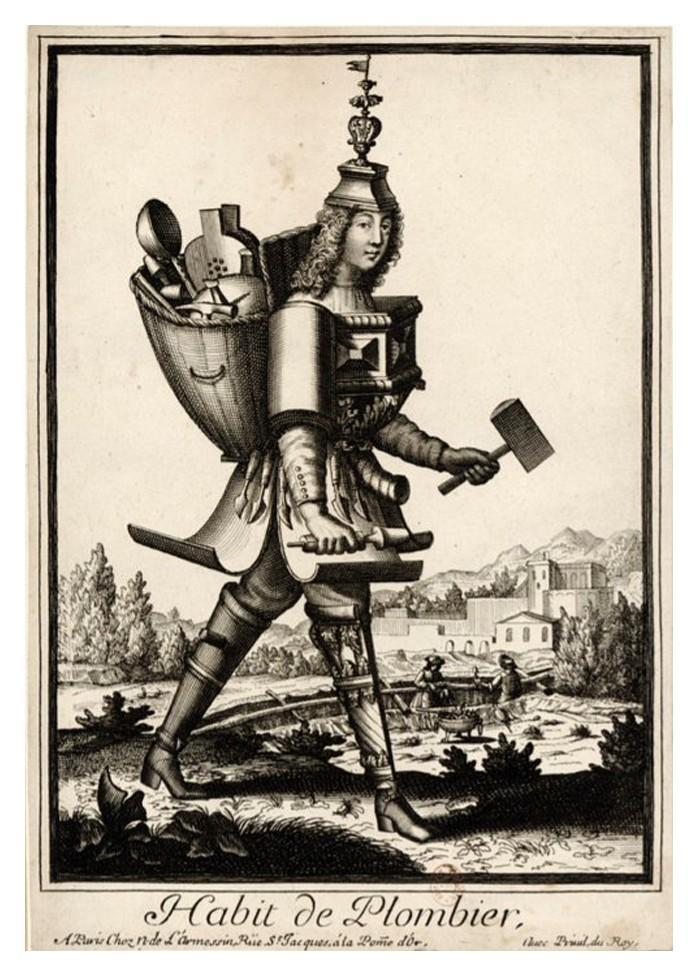 Nicolas Larmessin Costumes Grotesques Habit metier 41 Costumes grotesques et métiers de Nicolas de Larmessin