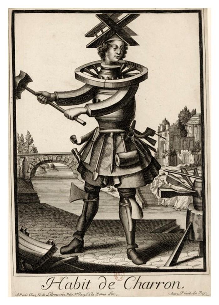 Nicolas Larmessin Costumes Grotesques Habit metier 42 Costumes grotesques et métiers de Nicolas de Larmessin
