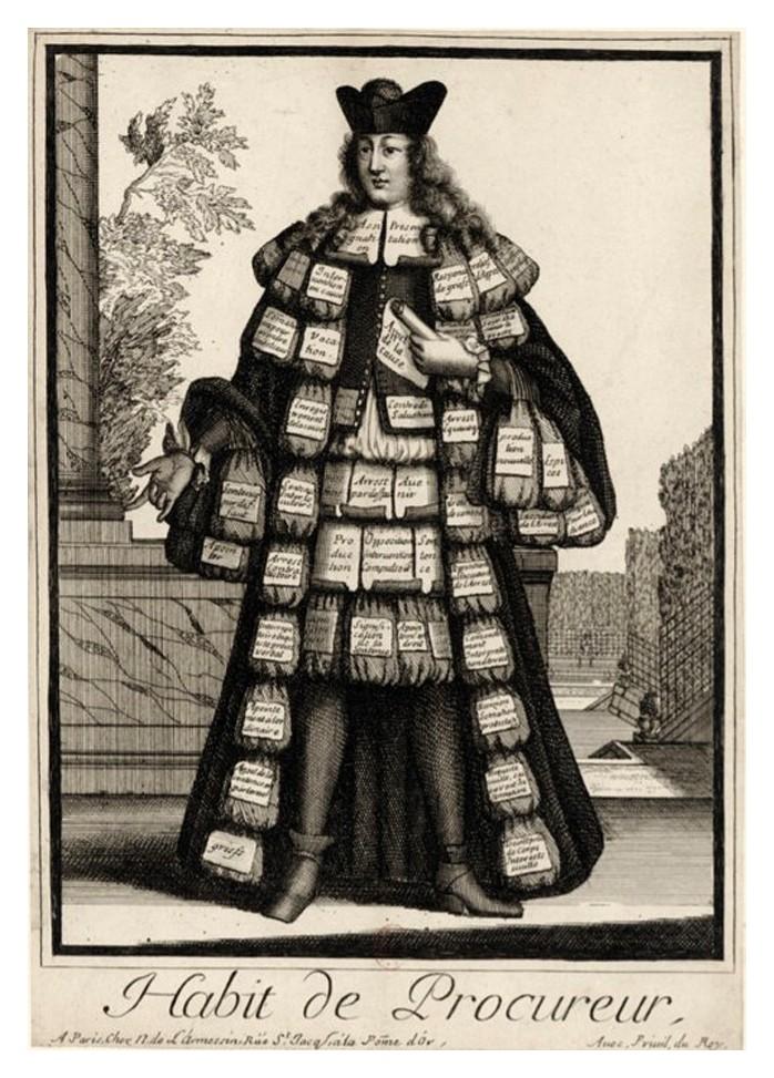 Nicolas Larmessin Costumes Grotesques Habit metier 43 Costumes grotesques et métiers de Nicolas de Larmessin
