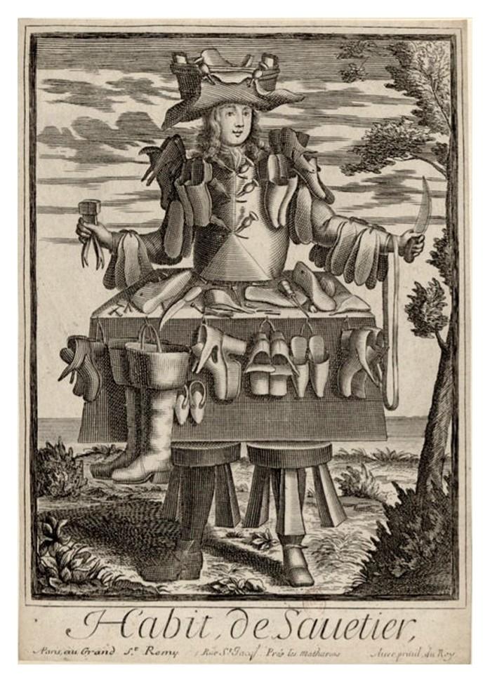 Nicolas Larmessin Costumes Grotesques Habit metier 45 Costumes grotesques et métiers de Nicolas de Larmessin