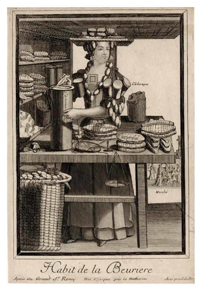 Nicolas Larmessin Costumes Grotesques Habit metier 46 Costumes grotesques et métiers de Nicolas de Larmessin