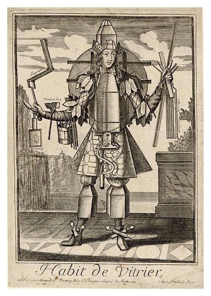 Nicolas Larmessin Costumes Grotesques Habit metier 49 Costumes grotesques et métiers de Nicolas de Larmessin