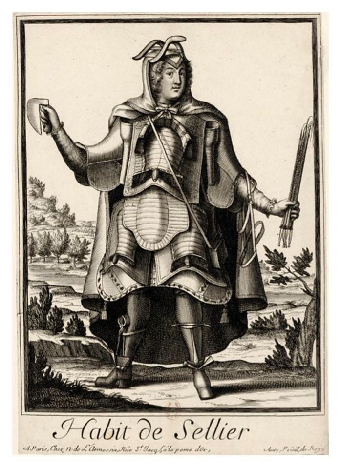 Nicolas Larmessin Costumes Grotesques Habit metier 51 Costumes grotesques et métiers de Nicolas de Larmessin