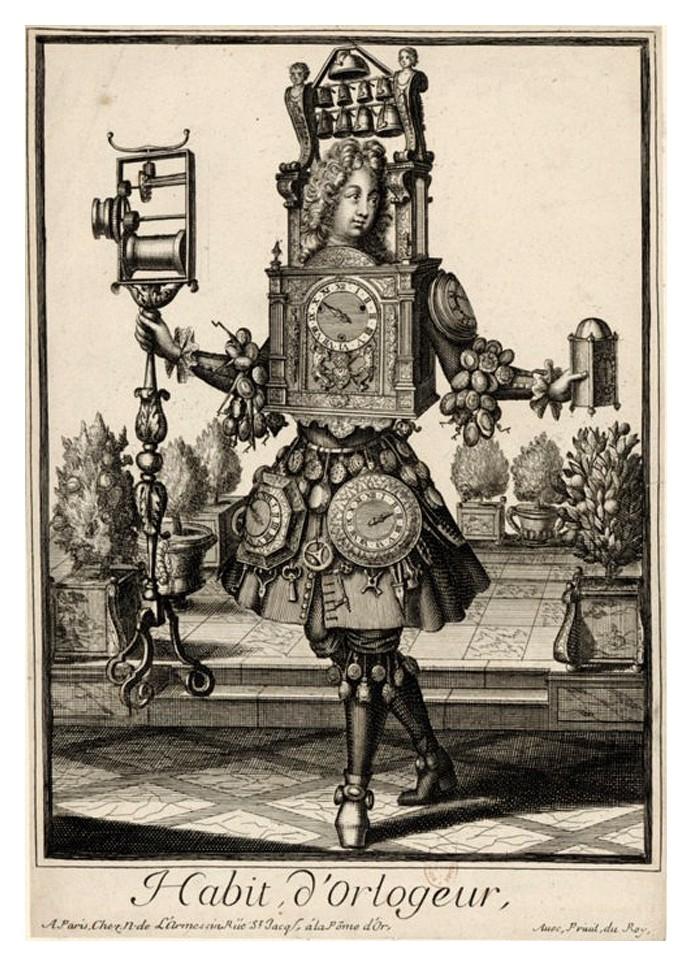Nicolas Larmessin Costumes Grotesques Habit metier 52 Costumes grotesques et métiers de Nicolas de Larmessin
