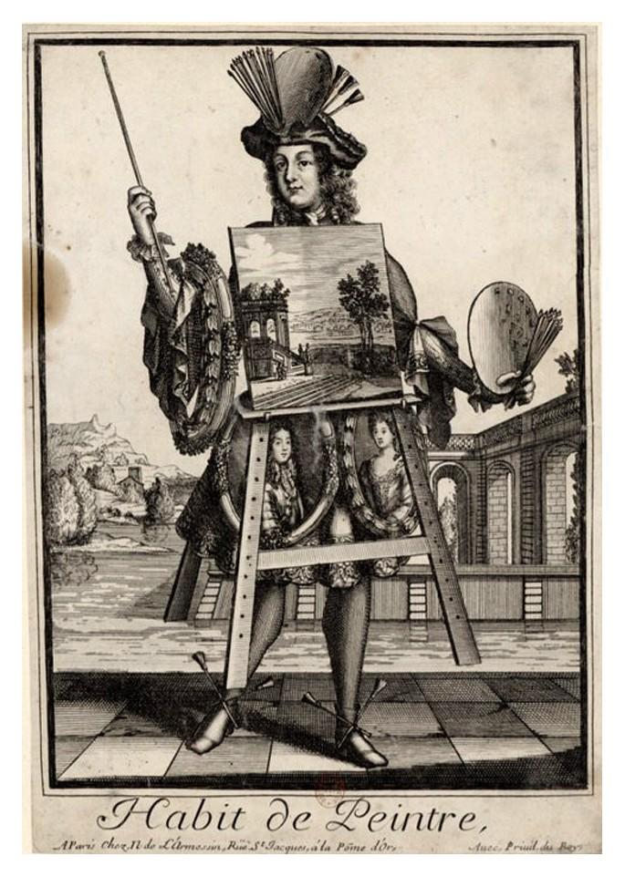 Nicolas Larmessin Costumes Grotesques Habit metier 54 Costumes grotesques et métiers de Nicolas de Larmessin
