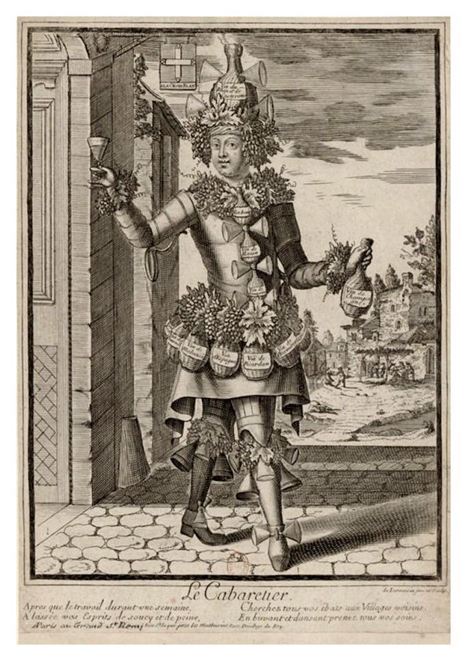 Nicolas Larmessin Costumes Grotesques Habit metier 56 Costumes grotesques et métiers de Nicolas de Larmessin