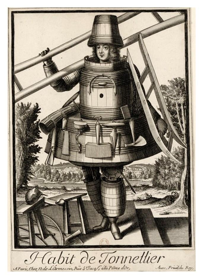 Nicolas Larmessin Costumes Grotesques Habit metier 59 Costumes grotesques et métiers de Nicolas de Larmessin