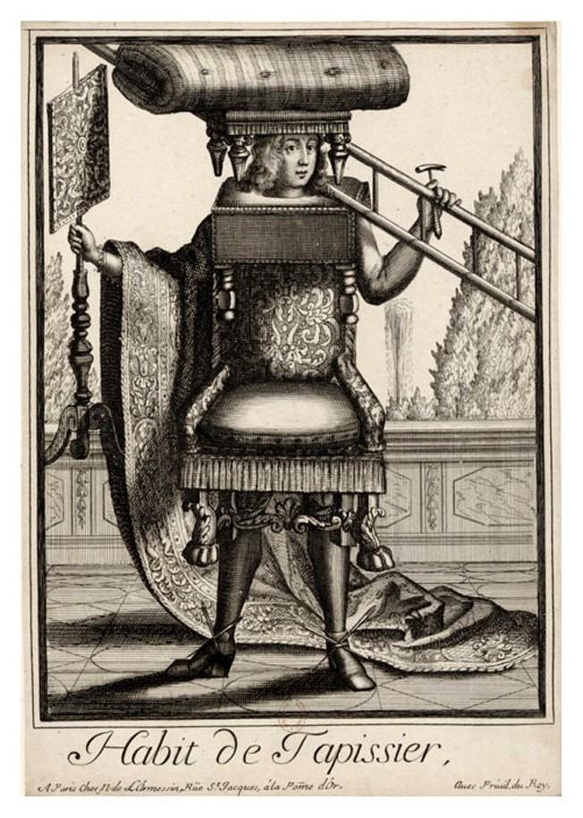 Nicolas Larmessin Costumes Grotesques Habit metier 61 Costumes grotesques et métiers de Nicolas de Larmessin