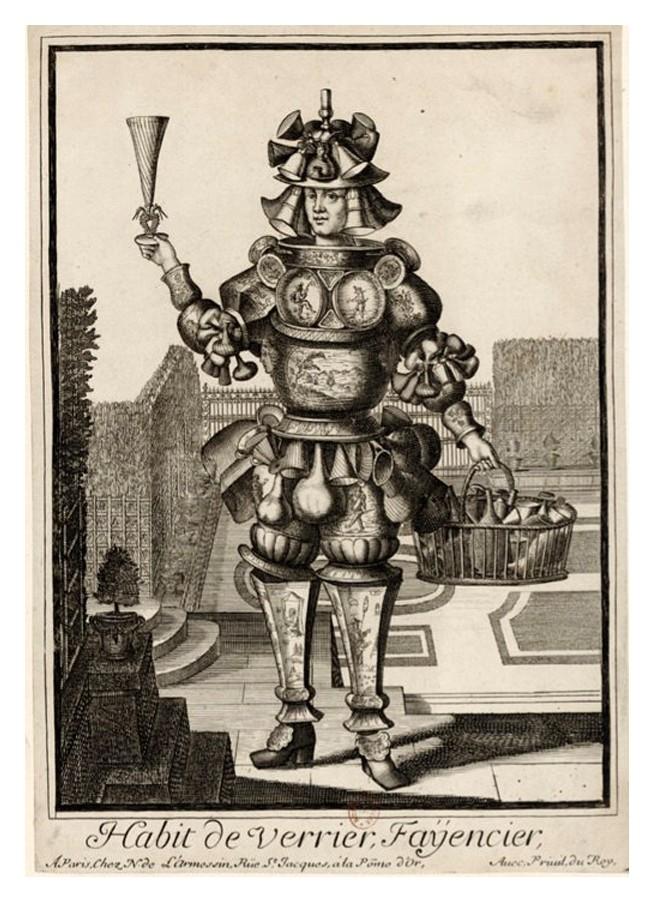 Nicolas Larmessin Costumes Grotesques Habit metier 62 Costumes grotesques et métiers de Nicolas de Larmessin