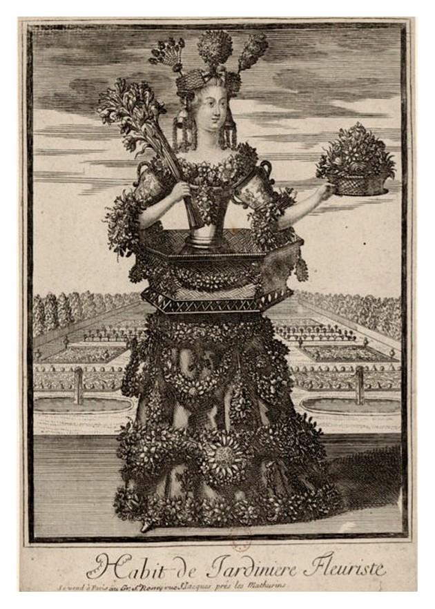 Nicolas Larmessin Costumes Grotesques Habit metier 63 Costumes grotesques et métiers de Nicolas de Larmessin