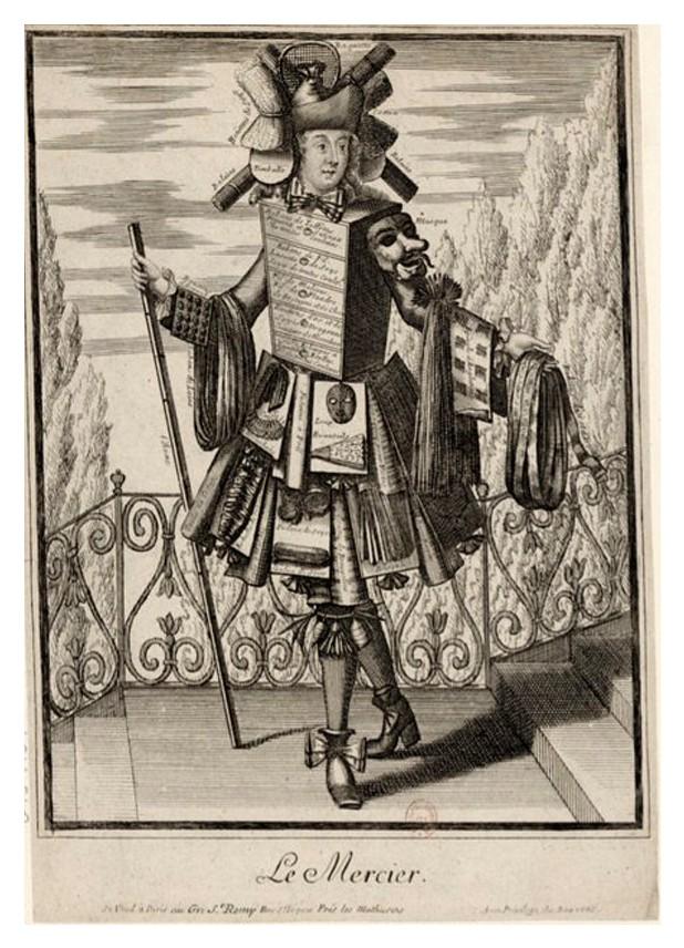Nicolas Larmessin Costumes Grotesques Habit metier 64 Costumes grotesques et métiers de Nicolas de Larmessin