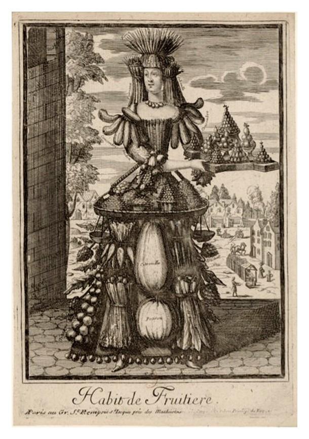 Nicolas Larmessin Costumes Grotesques Habit metier 65 Costumes grotesques et métiers de Nicolas de Larmessin