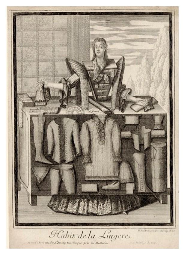 Nicolas Larmessin Costumes Grotesques Habit metier 66 Costumes grotesques et métiers de Nicolas de Larmessin