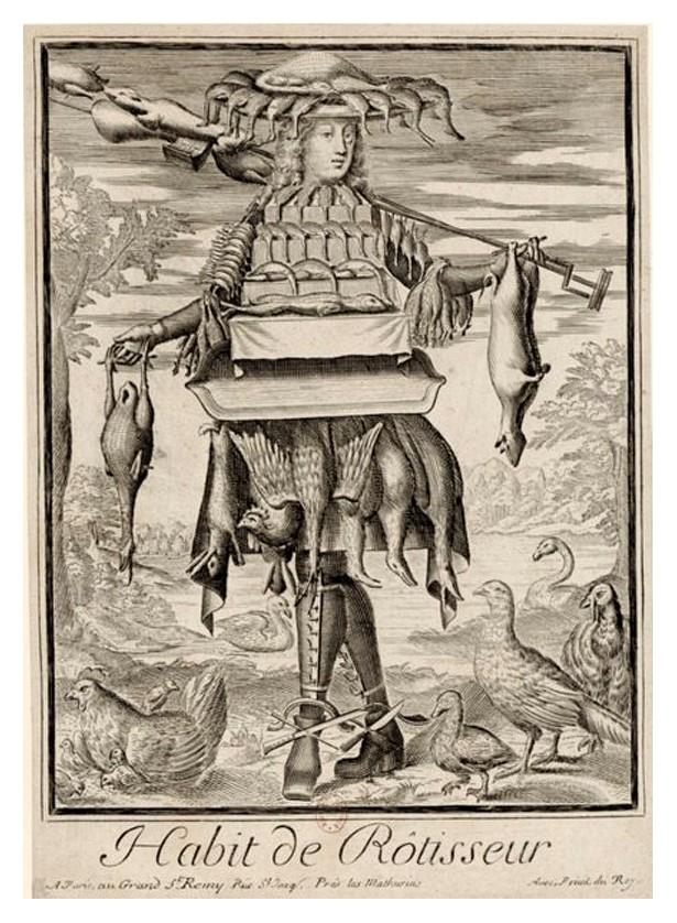 Nicolas Larmessin Costumes Grotesques Habit metier 67 Costumes grotesques et métiers de Nicolas de Larmessin