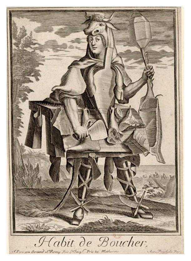 Nicolas Larmessin Costumes Grotesques Habit metier 68 Costumes grotesques et métiers de Nicolas de Larmessin