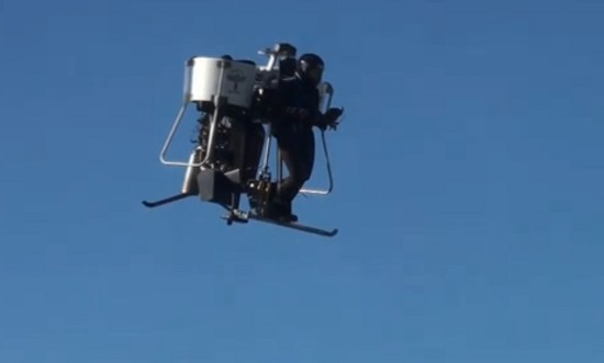 jetpack Vol de test dun Jetpack  video technologie bonus