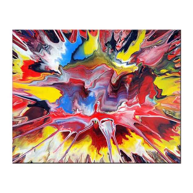 Les peintures m caniques abstraites de mark chadwick for Peintures abstraites